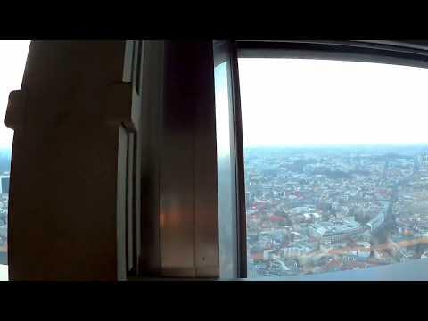 Berlin TV Tower 360° Timelapse