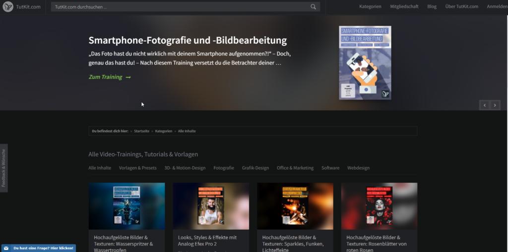 TutKit Startseite